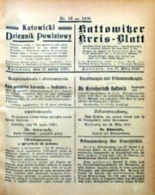 Kattowitzer Kreisblatt, 1920, nr13