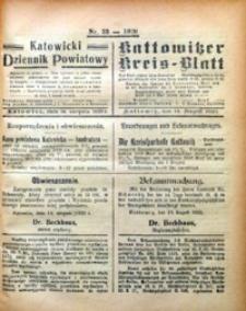 Kattowitzer Kreisblatt, 1920, nr33