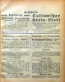 Kattowitzer Kreisblatt, 1920, nr43