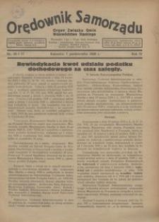 Orędownik Samorządu, 1928, R. 4, nr 16/17