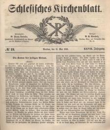 Schlesisches Kirchenblatt, 1861, Jg. 27, nr 19