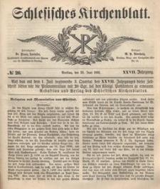 Schlesisches Kirchenblatt, 1861, Jg. 27, nr 26