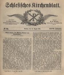 Schlesisches Kirchenblatt, 1861, Jg. 27, nr 35