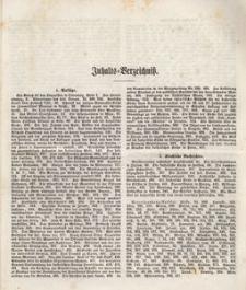 Schlesisches Kirchenblatt, 1861, Jg. 27, Inhalts-Verzeihniss