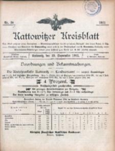 Kattowitzer Kreisblatt, 1911, nr38
