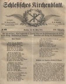 Schlesisches Kirchenblatt, 1853, Jg. 19, nr 13