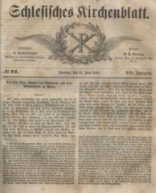Schlesisches Kirchenblatt, 1853, Jg. 19, nr 24