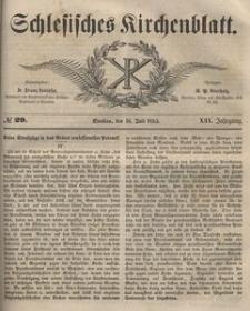 Schlesisches Kirchenblatt, 1853, Jg. 19, nr 29
