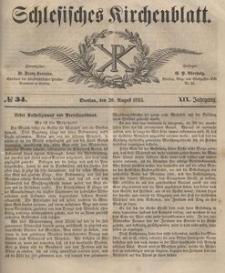 Schlesisches Kirchenblatt, 1853, Jg. 19, nr 34