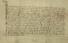 Jan Bielik z Kornic, hetman Górnego Śląska, potwierdza, że Władysław Labut z Skrzyna zrzeka się wszelkich przysługujących mu praw na korzyść Kazimierza II, księcia cieszyńskiego