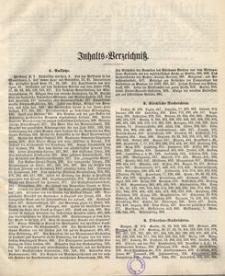 Schlesisches Kirchenblatt, 1857, Jg. 23, Inhalts-Verzeihniss