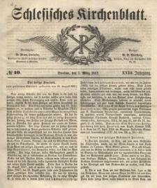 Schlesisches Kirchenblatt, 1857, Jg. 23, nr 10