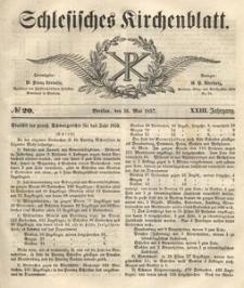 Schlesisches Kirchenblatt, 1857, Jg. 23, nr 20