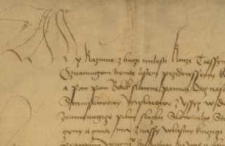 Kazimierz II, książę cieszyński sprzedaje wieś Łazy Stanisławowi Laskiemu