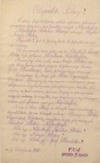 Obywatele Polacy! 6 listopada 1916. P.O.W. Komenda 5 Obwodu