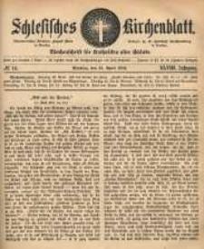 Schlesisches Kirchenblatt, 1882, Jg. 48, nr 16