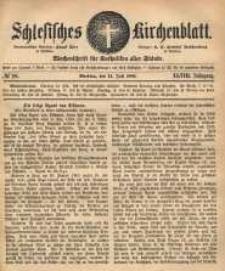 Schlesisches Kirchenblatt, 1882, Jg. 48, nr 28