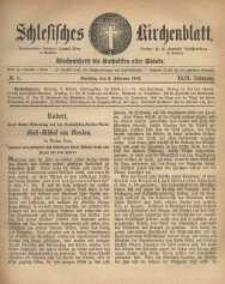 Schlesisches Kirchenblatt, 1883, Jg. 49, nr 6