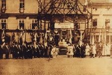 Rybnik. Wkroczenie wojsk polskich w 1922 roku