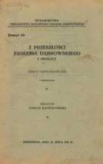 Z przeszłości Zagłębia Dąbrowskiego i okolicy, 1931, T. 1, z. 15