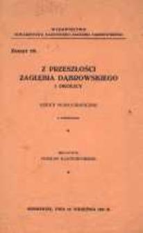 Z przeszłości Zagłębia Dąbrowskiego i okolicy, 1931, T. 1, z. 19