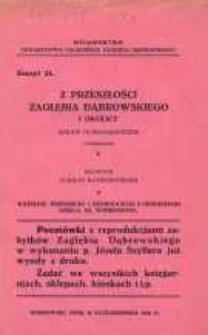 Z przeszłości Zagłębia Dąbrowskiego i okolicy, 1931, T. 1, z. 21