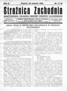 Strażnica Zachodnia, 1928, R. 2, nr 17/18
