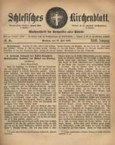 Schlesisches Kirchenblatt, 1883, Jg. 49, nr 28