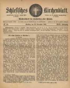 Schlesisches Kirchenblatt, 1883, Jg. 49, nr 48