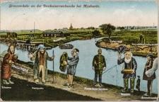 """""""Grenzverkehr an der Dreikaiserreichsecke bei Myslowitz"""""""