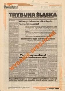 """50 lat """"Trybuny Śląskiej"""". Wydanie specjalne [2.02.1995]"""