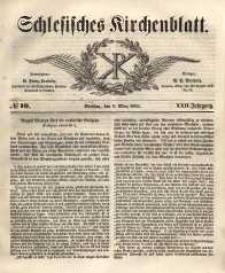 Schlesisches Kirchenblatt, 1856, Jg. 22, nr 10