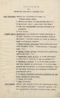 Okólnik Nr 14. Piotrków, dnia 7 maja 1915. Do Emisariuszy Departamentu Wojskowego N.K.N. Naczelny Komitet Narodowy