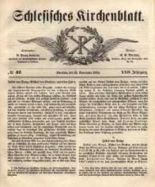 Schlesisches Kirchenblatt, 1856, Jg. 22, nr 47