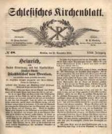 Schlesisches Kirchenblatt, 1856, Jg. 22, nr 48