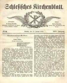 Schlesisches Kirchenblatt, 1859, Jg. 25, nr 3