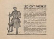 Legiony Polskie. Centralne Biuro Werbunkowe Legionów Polskich