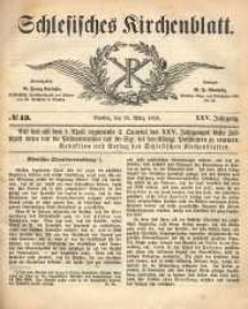 Schlesisches Kirchenblatt, 1859, Jg. 25, nr 13