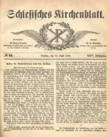 Schlesisches Kirchenblatt, 1859, Jg. 25, nr 17