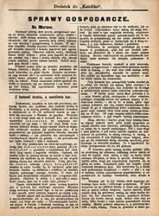 Sprawy Gospodarcze, 1892, nr3