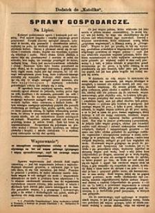 Sprawy Gospodarcze, 1892, nr7