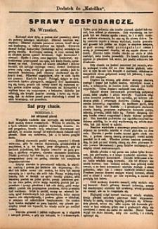 Sprawy Gospodarcze, 1892, nr9