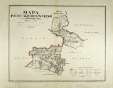 Mapa powiatu świętochłowickiego oraz Królewskiej Huty