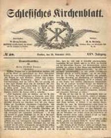 Schlesisches Kirchenblatt, 1859, Jg. 25, nr 48