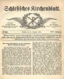 Schlesisches Kirchenblatt, 1859, Jg. 25, nr 52