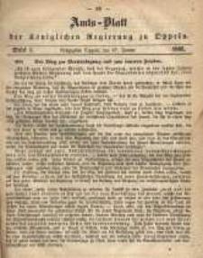 Amts-Blatt der Königlichen Regierung zu Oppeln pro 1865, 50 Bd., nr 4