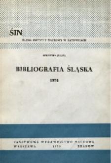 Bibliografia Śląska 1974