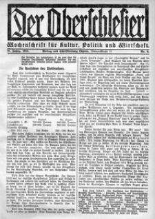 Der Oberschlesier, 1921, R. 3, nr 9