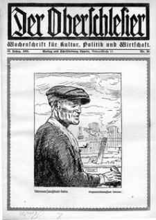 Der Oberschlesier, 1921, Jg. 3, Nr. 29