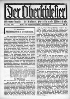 Der Oberschlesier, 1921, R. 3, nr 30